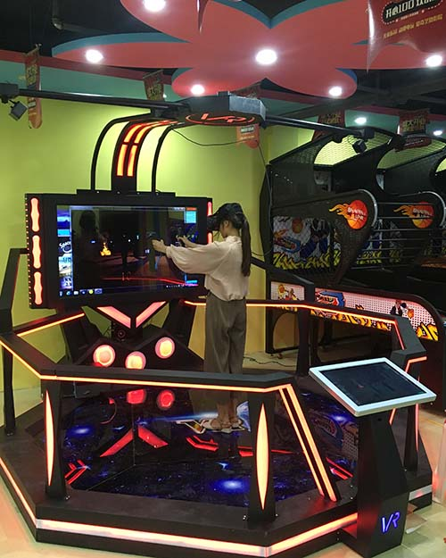 Fuhua flight laser shooting simulator for sale for amusement park-9