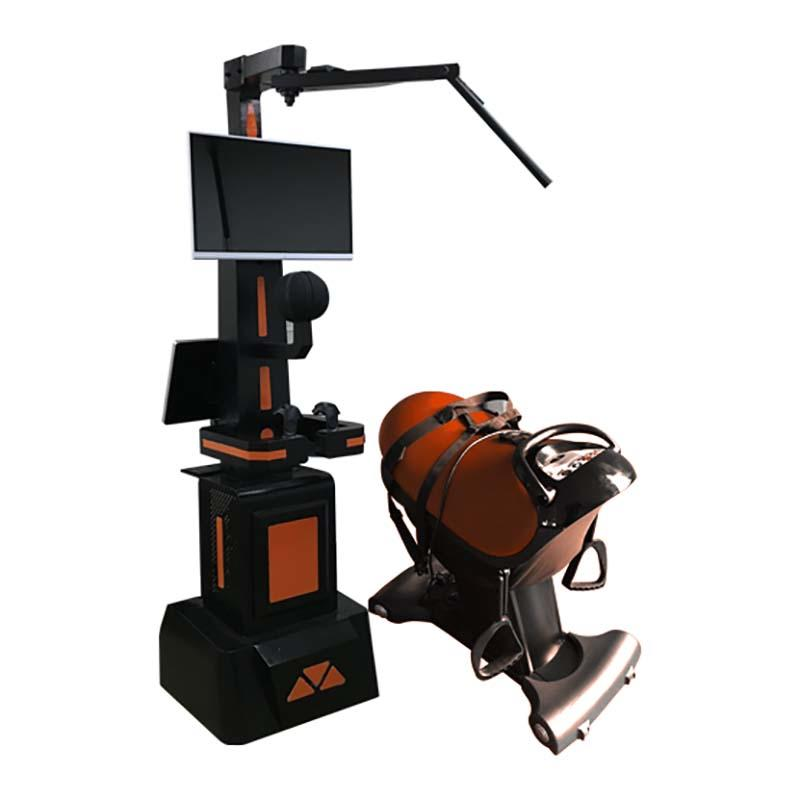 Most Popular 9D VR Horse Simulator Amusement Rides Anti-true Machine