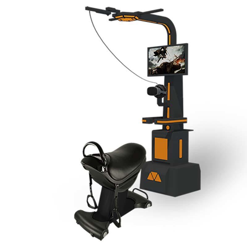 Most Popular 9D VR Horse Simulator Amusement Rides Anti-true Machine