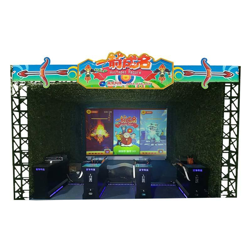 New Arcade Game Equipment Archery Hero Multiplayer Game System