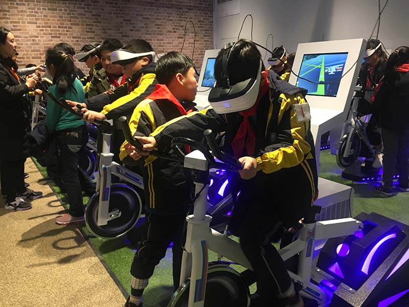 Fuhua athletic vr skiing realistic experience for family-1