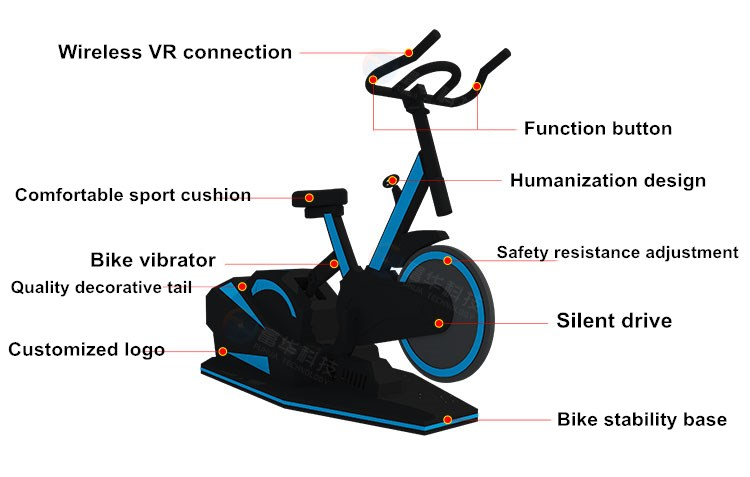 Fuhua athletic vr skiing realistic experience for family-2