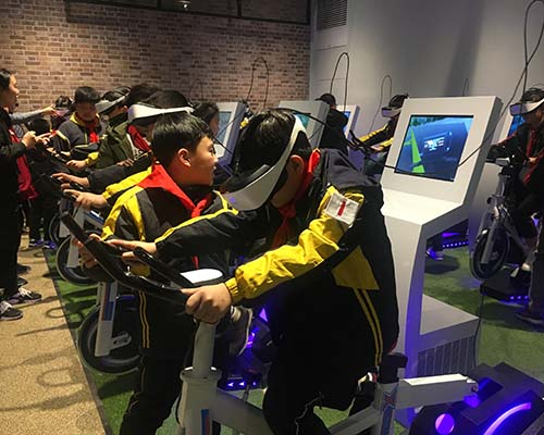 Fuhua athletic vr skiing realistic experience for family-3