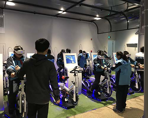 Fuhua health vr walk for fitness game center-5