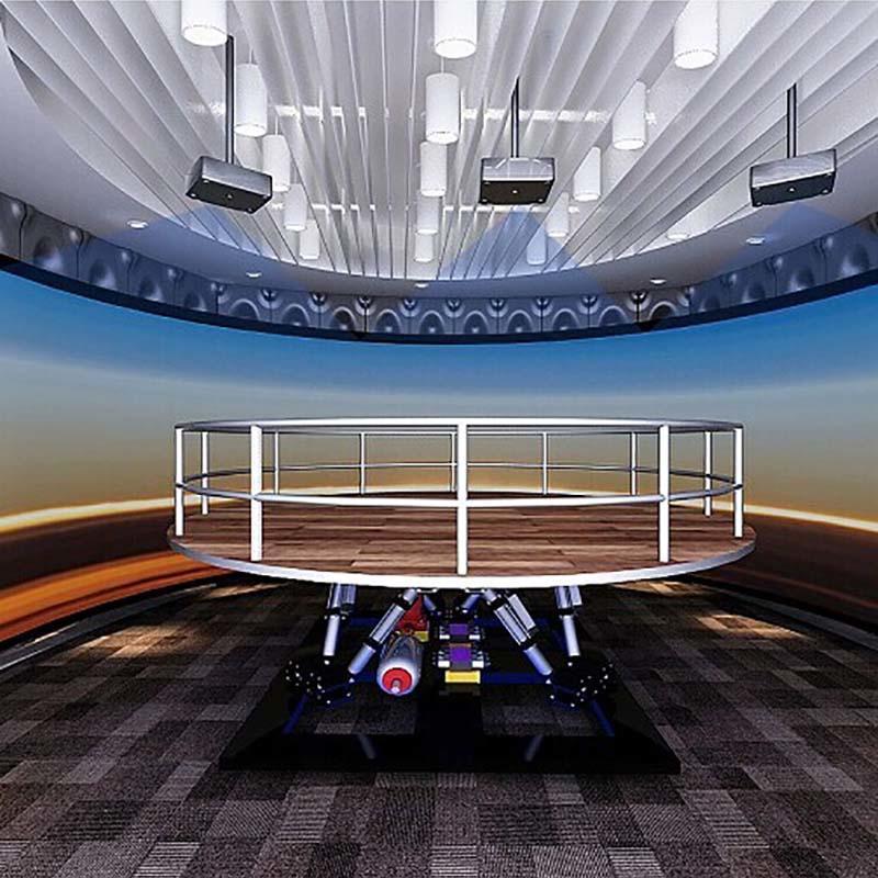 Fuhua 3D Earthquake Experience Museum Simulator for Science Education
