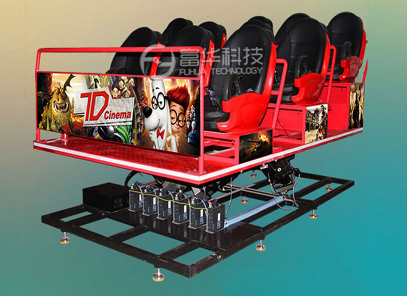 Fuhua Multiplayer cinema 7d stereo and seat for tourist attractions-2