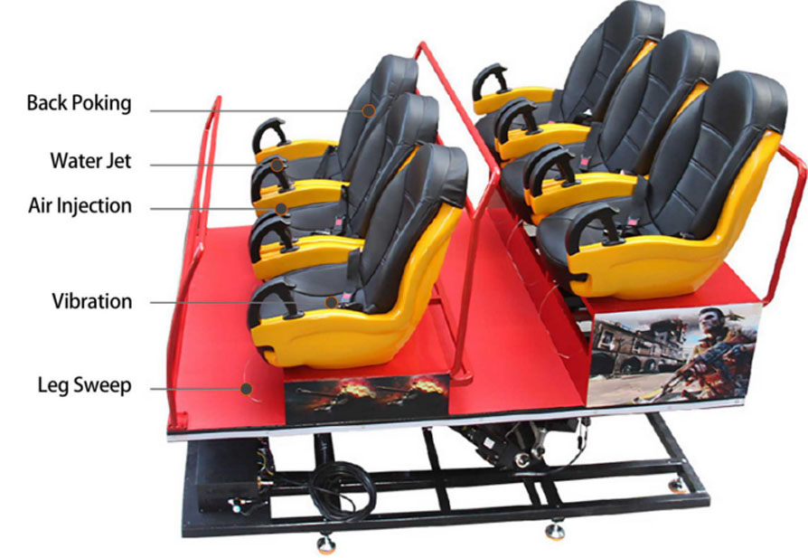 Fuhua Multiplayer cinema 7d stereo and seat for tourist attractions-3