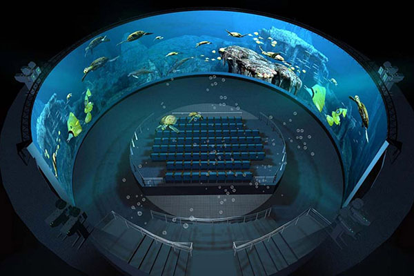 Fuhua High-tech dome cinema Projector system for museum-2