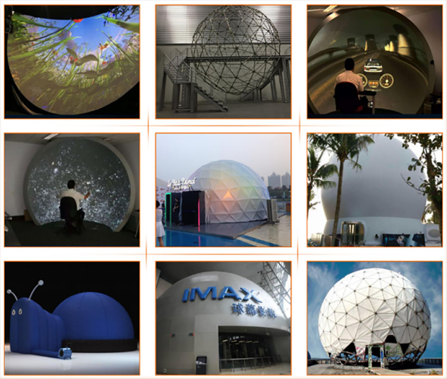 Fuhua High-tech dome cinema Projector system for museum-7