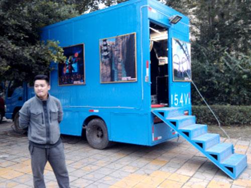 Fuhua equipment mobile cinema sound system for cinemas-8