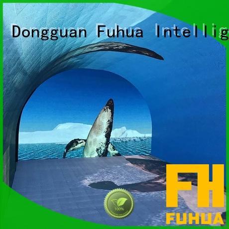 Fuhua Attractive led wall screen for education for culture propaganda