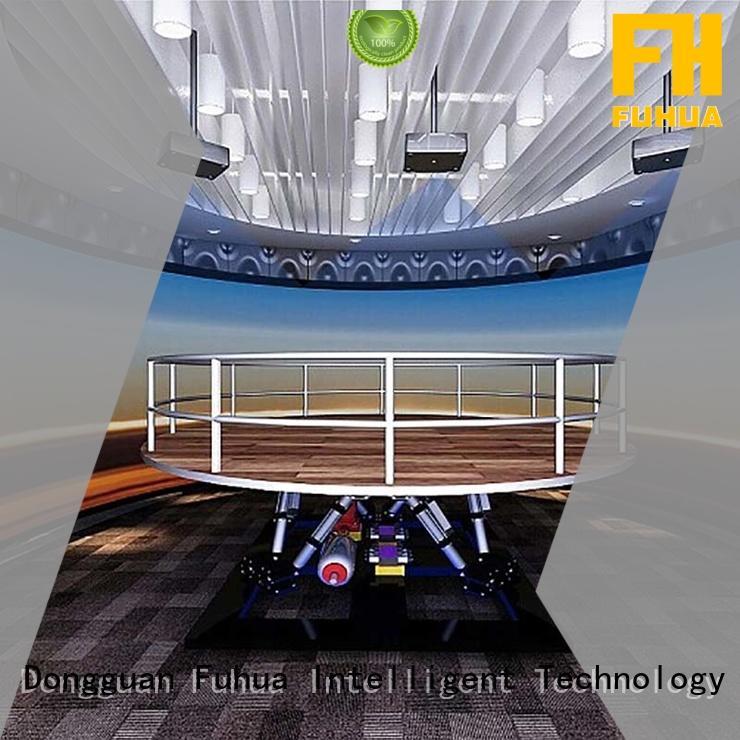 high performance earthquake simulator 3d manufacture for scenic area