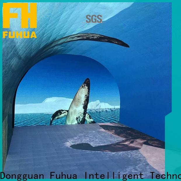 Fuhua Attractive curved projection screen for sale for tourist attractions