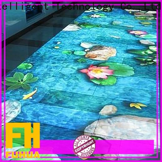 Fuhua relaxing interactive projection for sale for children's playground