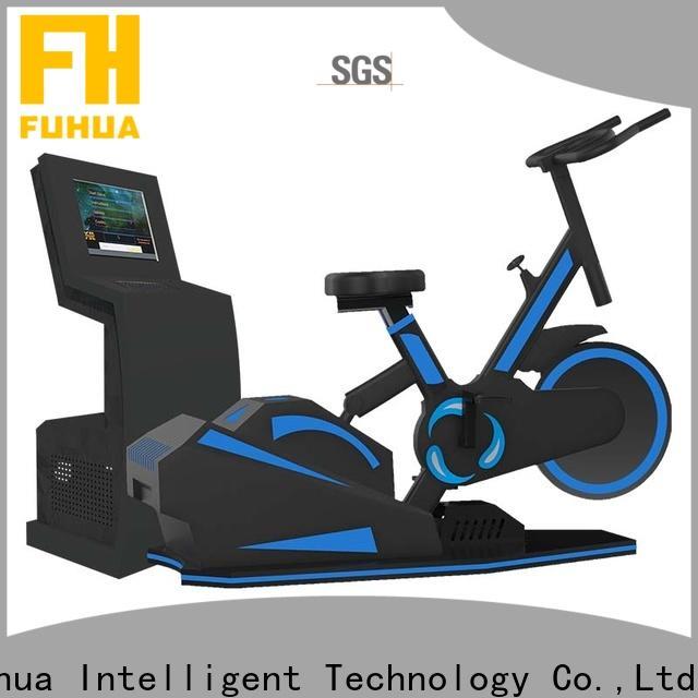 Intelligence vr treadmill surfing dynamic control for school