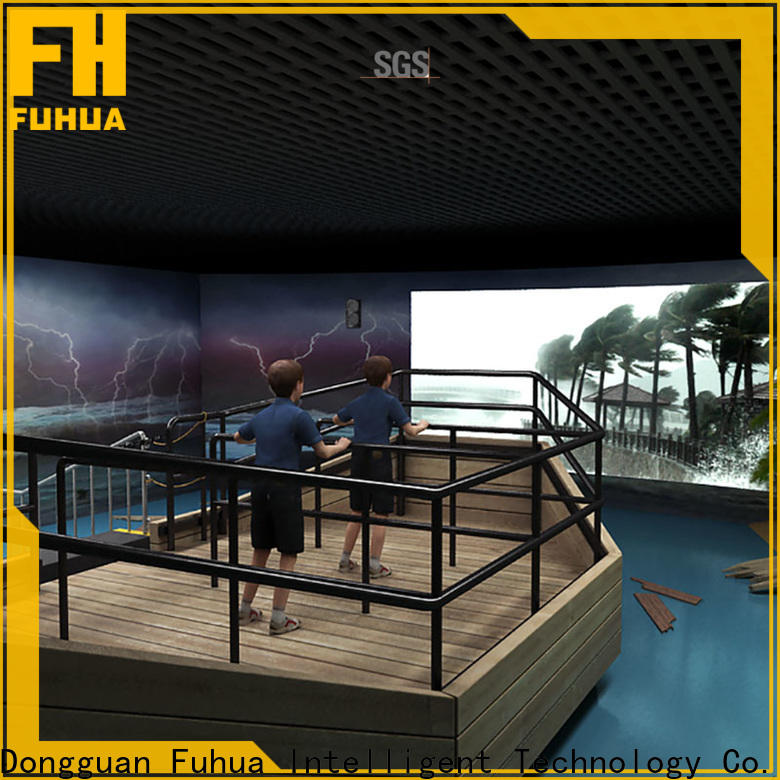 Attractive voyage simulator experience for education for scenic area