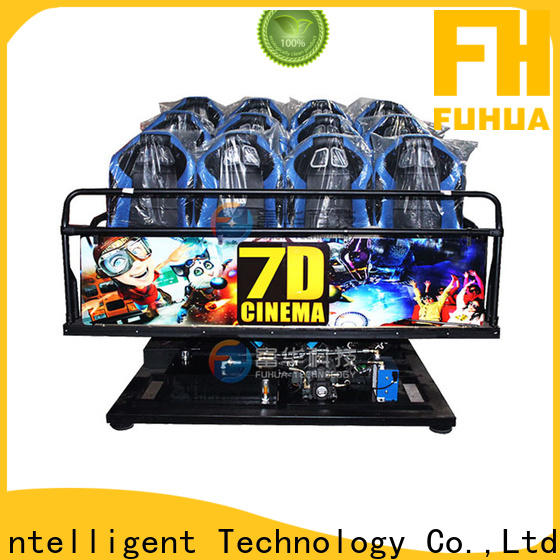 Fuhua motion cinema 7d stereo and seat for aquariums