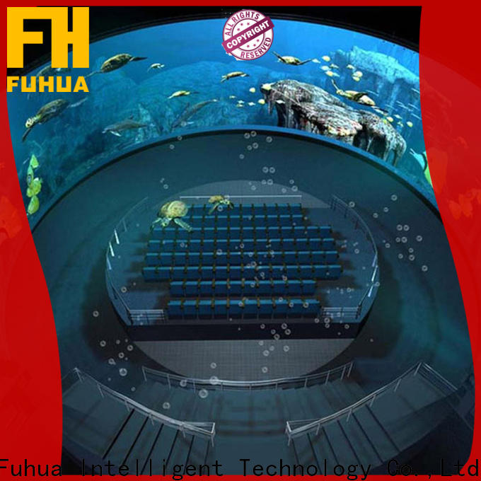 Luxury dome theater fuhua Realistic Effect for commercial amusement