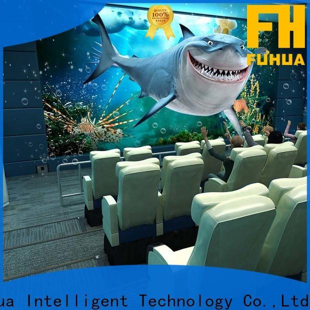 Fuhua motion 5d cinema supply for amusement park