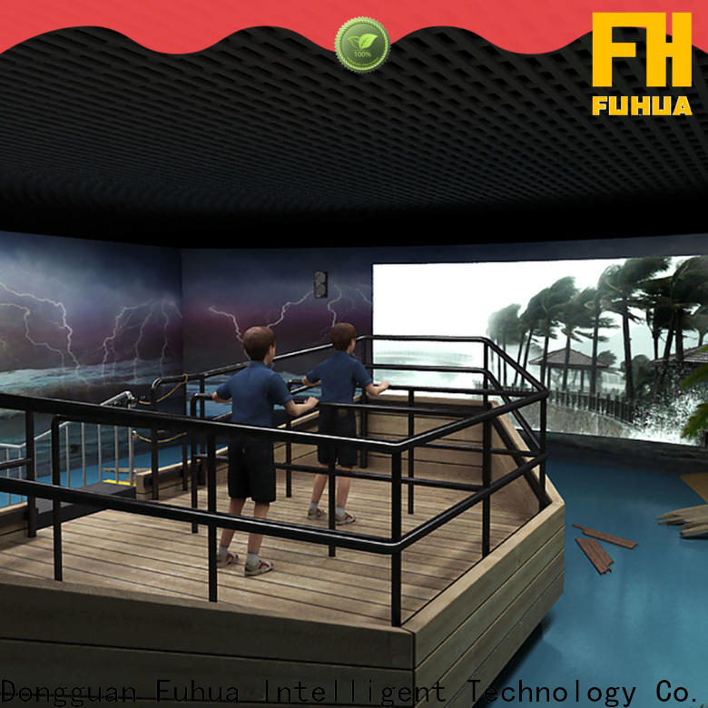Fuhua popular typhoon simulator for Science Education for school