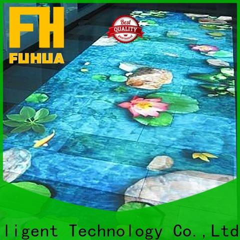 Fuhua Attractive floor projection Enhance confidence for museum