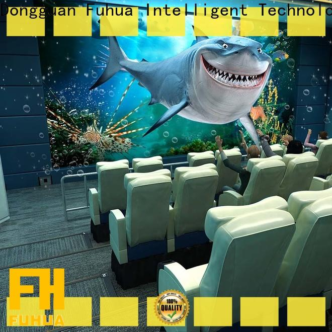 Fuhua Interactive 4d 5d cinema different experience for cinema