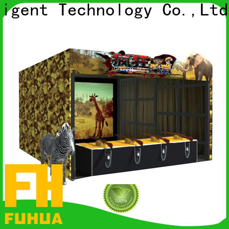 Fuhua fashionable shooting game simulator for sale for amusement park