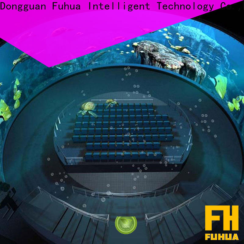 Fuhua Luxury dome theater wholesale for space & science center