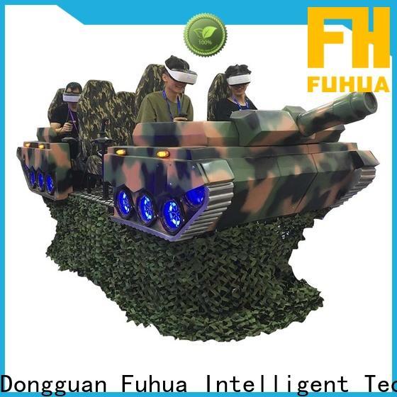 Fuhua platform vr slide for adults for theme park