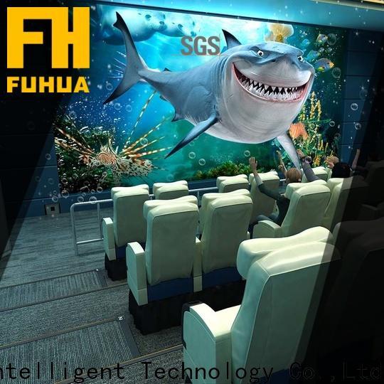 Virtual Reality 4d 5d cinema sale supply for theme park