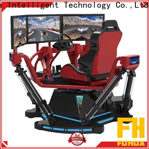 Fuhua screen vr racing car dynamic control technology for theme park