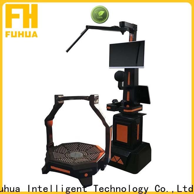 Fuhua theme shooting game simulator dynamic control technology for theme park