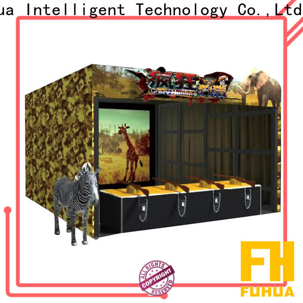 Fuhua Attractive laser shooting simulator engines for amusement park