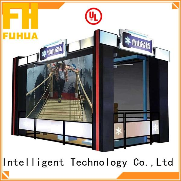 vr vr bridge different experience for space & science center Fuhua