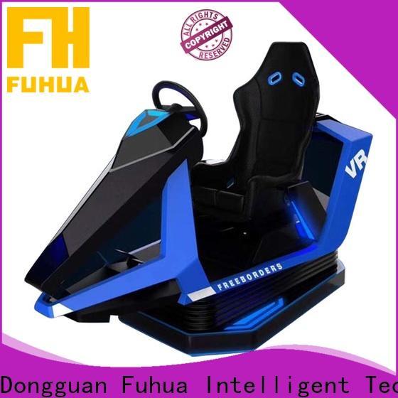 Fuhua arcade vr racing car for market