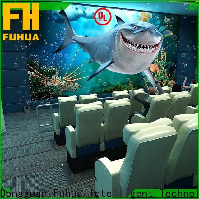Interactive 4d 5d cinema theater Realistic Effect for amusement park