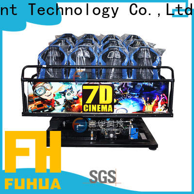 Fuhua Multiplayer cinema 7d stereo and seat for tourist attractions