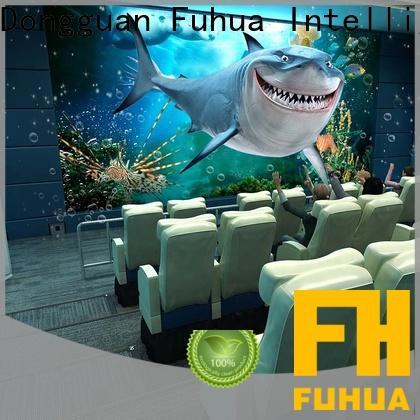 Fuhua xd 5d cinema different experience for amusement park