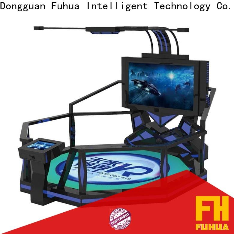 Fuhua fashionable vr shooting dynamic control technology for theme park