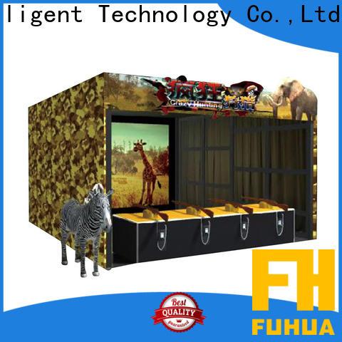 Fuhua high performance shooting game simulator factory for theme park
