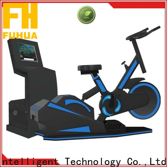 Fuhua athletic bike vr dynamic control for fitness game center
