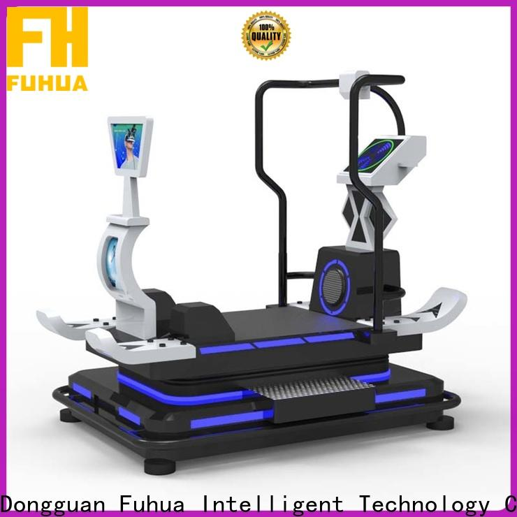 Fuhua boating vr treadmill for family