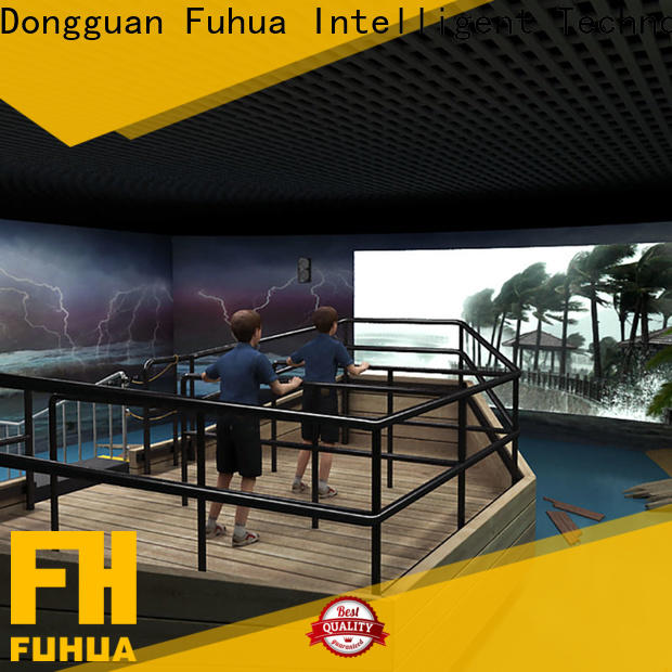 Fuhua experience typhoon simulator for sale for scenic area
