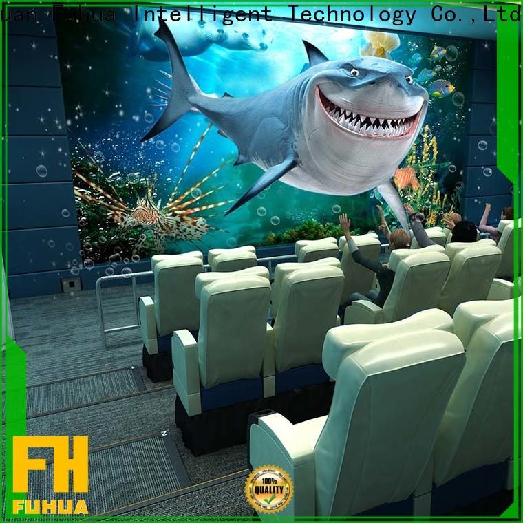 Fuhua amusement 4d 5d cinema different experience for theme park