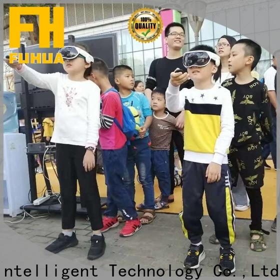 Fuhua high performance mixed reality games with the real environment for space & science center