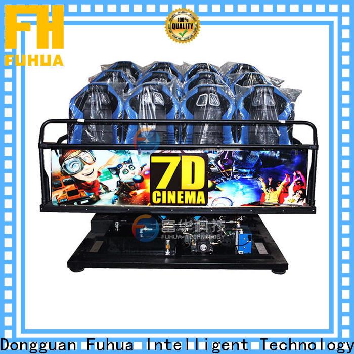 Fuhua Interactive cinema 7d display system for aquariums