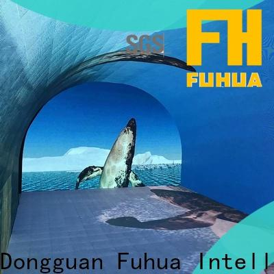 Fuhua floor led wall screen manufacture for zoo