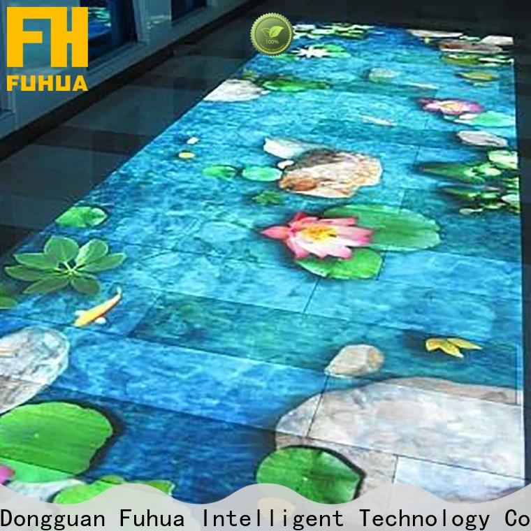 Attractive 3d holographic projection paradise for students for party