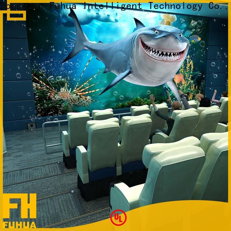 Fuhua fuhua 4d 5d cinema for kids for theme park