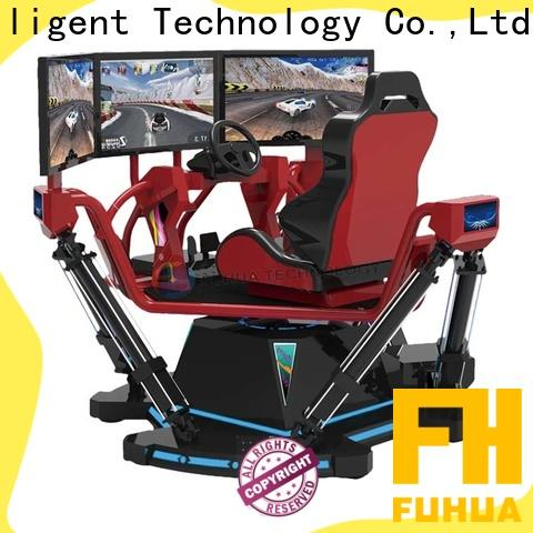 Fuhua park vr racing car engines for theme park